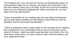 west-sussex-wedding-photographers-testimonials